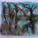 Paintings in Silk Fibre, Niagara Series
